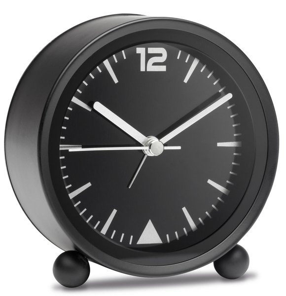 Wecker mit lautlosem Uhrwerk MORAY