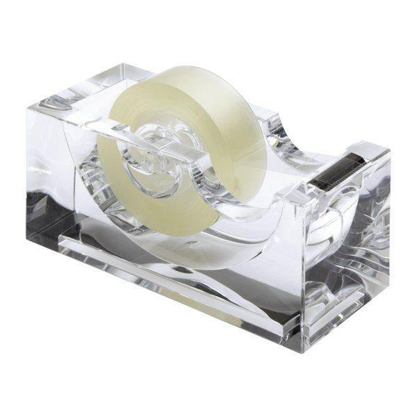 Klebestreifenabroller Klebebandspender Klebefilmabroller Acryl Design transparent