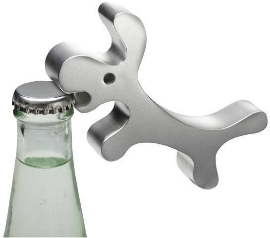 Design Flaschenöffner WauWau Aluminiumflaschenöffner Hund