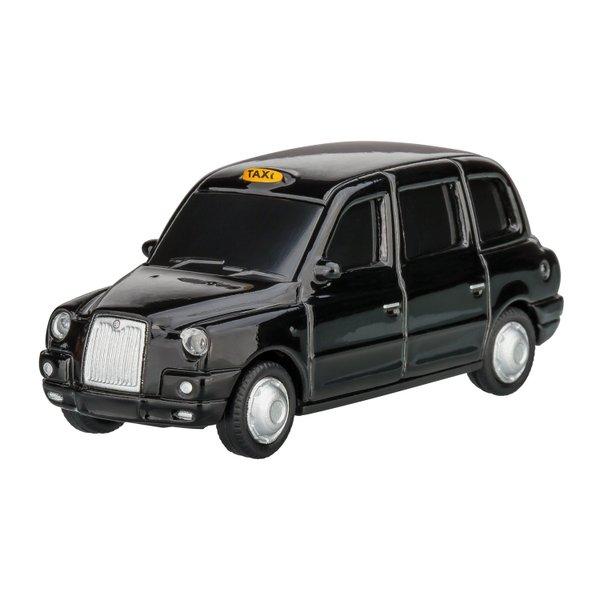 USB-Speicherstick London Taxi TX4 1:72 BLACK 16GB Automodell mit USB