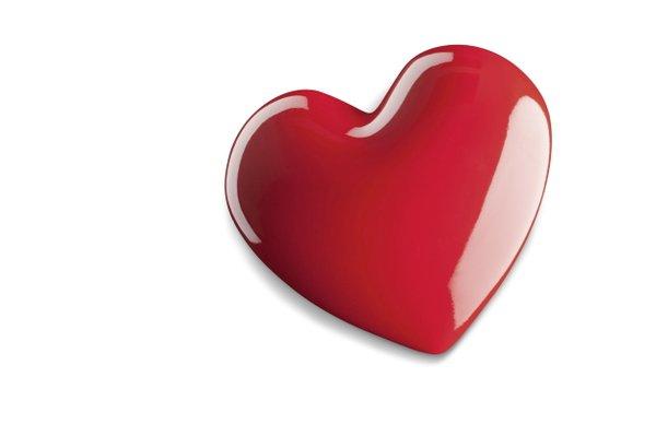Flaschenöffner Herz Kühlschrankmagnet in Herzform für Verliebte statt Blumen zum Valentinstag