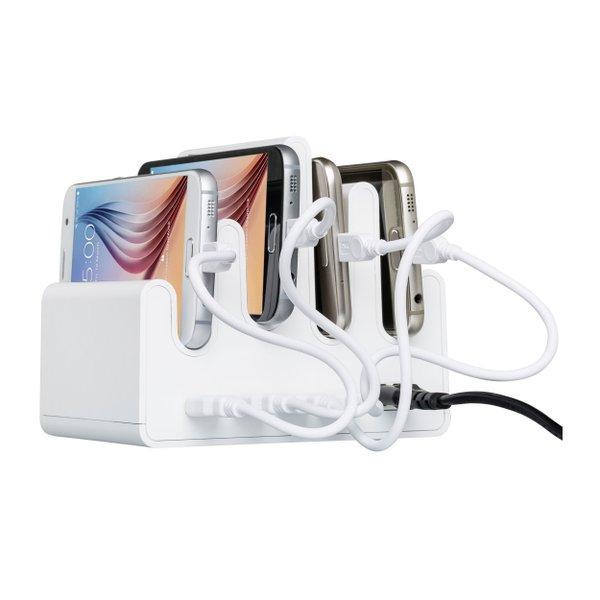 Mehrfach USB Ladestation mit Wechsellichtfunktion