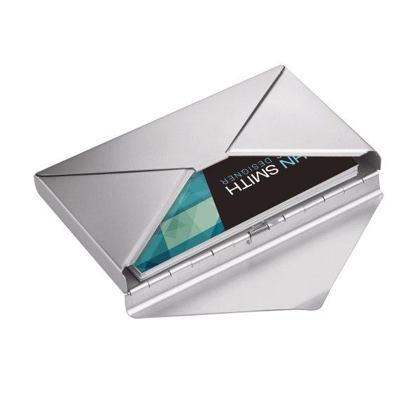 Visitenkartenbox Visitenkartenetui im Briefumschlags Design