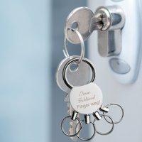 Schlüsselanhänger mit Gravur MULTI