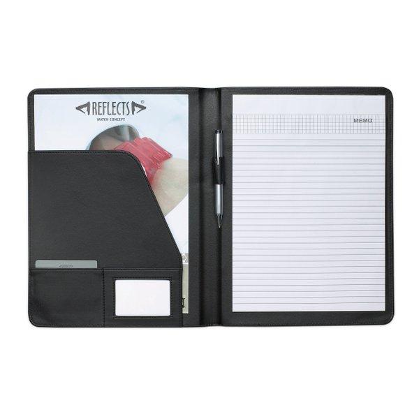 Schreibmappe DIN A4 mit liniertem Block