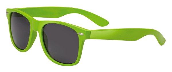 Trend Sonnenbrille Miami , schwarze Gläser