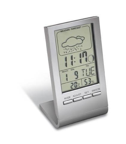 Wecker mit Thermometer DRANFIELD