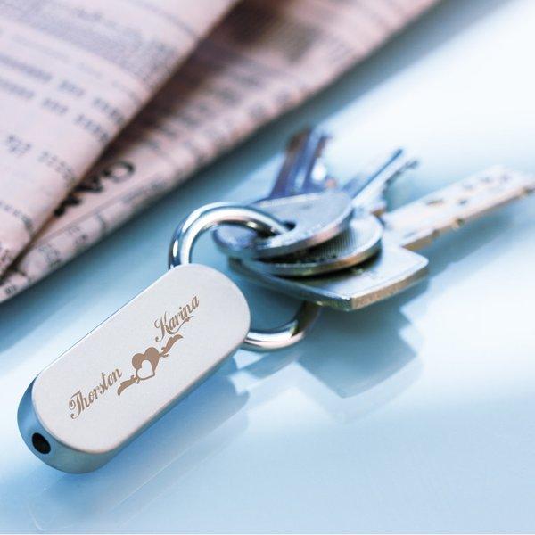 Schlüsselanhänger mit Gravur CLASSIC SMALL