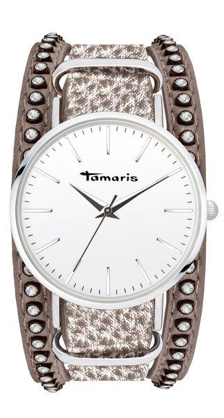 Tamaris ANNA Armbanduhr silber grau